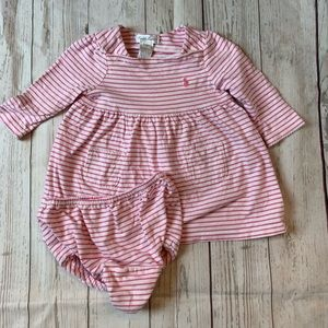 Ralph Lauren Dress with diaper cover